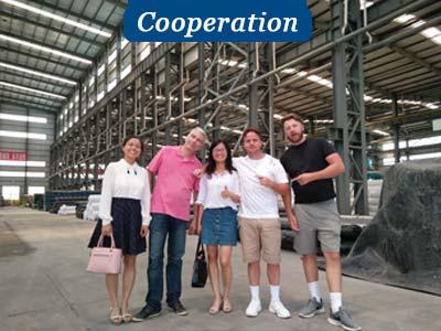 Company profile of geomembrane cooperation