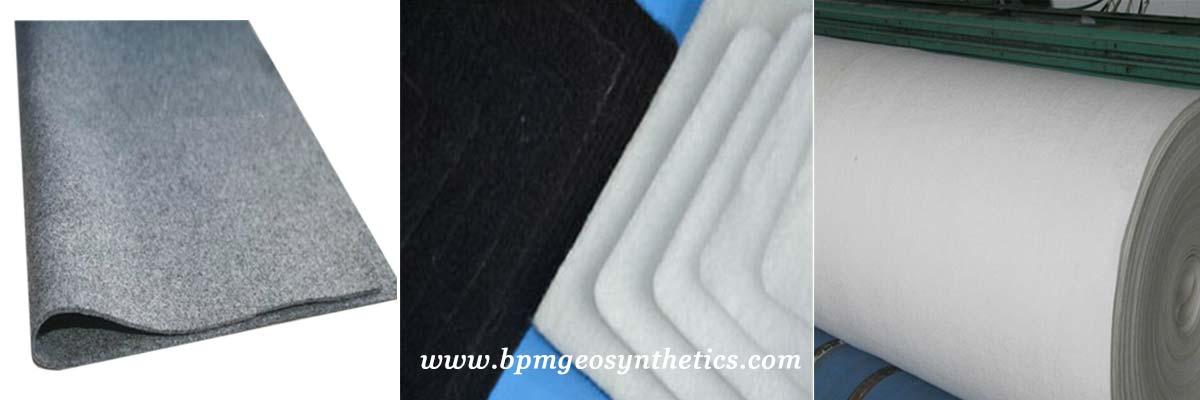 Hot Sale Short Staple Needled Punched Geotextile Fabric