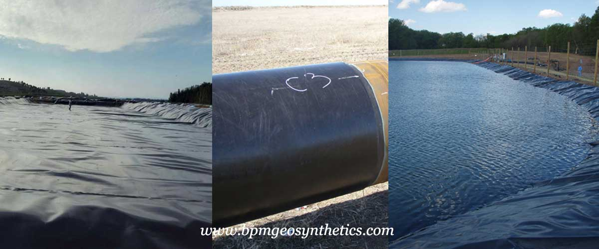 Geomembrane Liner for Landfill and Aquaculture Pond Liners applications