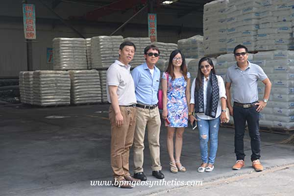 geosynthetics customers from Thailand