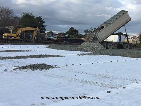 geotextile for road construction application