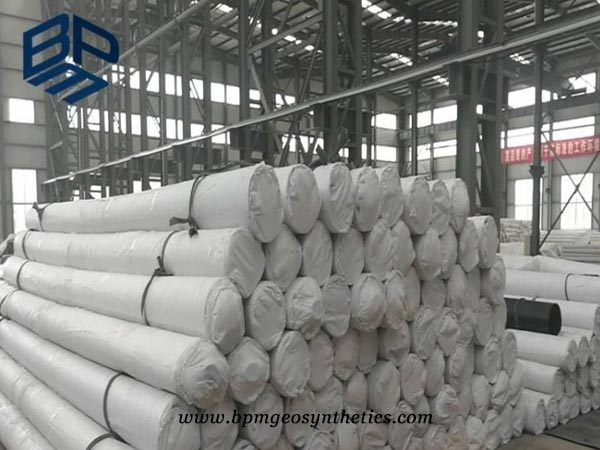 geotextile product in factory