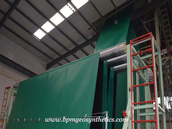 pvc pond liner production line