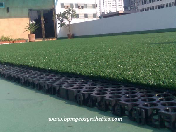 BPM Drainage Cell application in Thailand