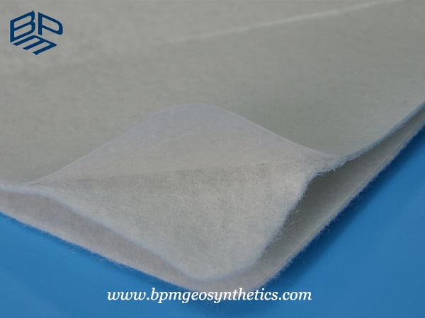 Composite Geomembrane HDPE liner sample