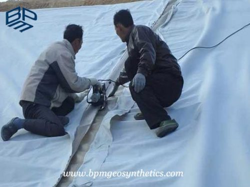 Composite Geomembrane liner application
