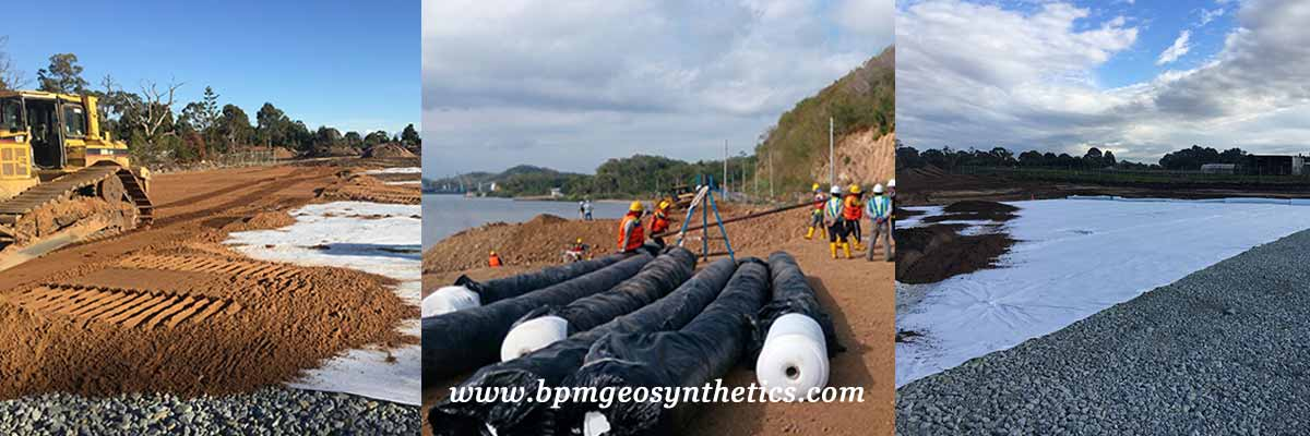 Filament Polyester Geotextile Applications