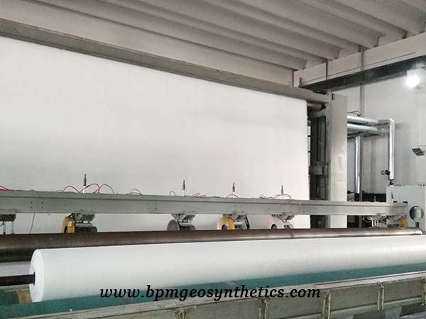 Filament Polyester Geotextile Fabric Production