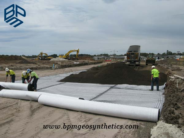 Filament Polyester Geotextile Fabric for Port Construction application