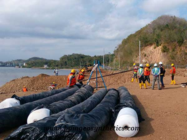Filament Polyester Geotextile Fabric for Port Construction