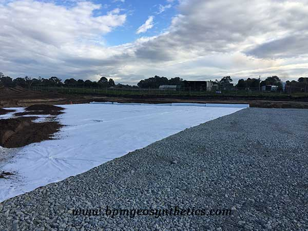 Filament Polyester Geotextile Fabric in Road Construction