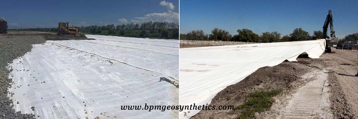 High Quality Pet Woven Geotextile Fabric