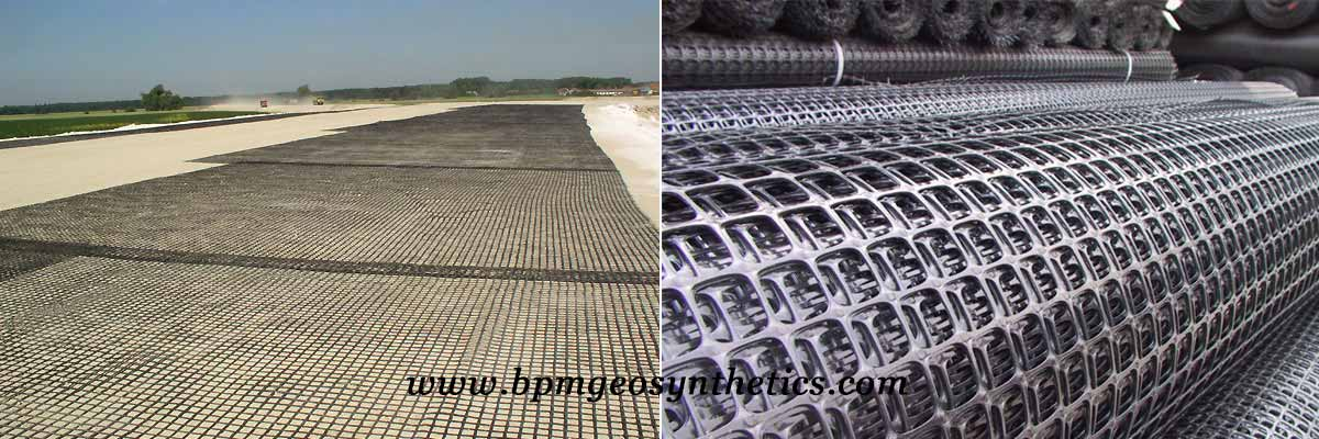High Quality Plastic Geogrid for Road Construction Application