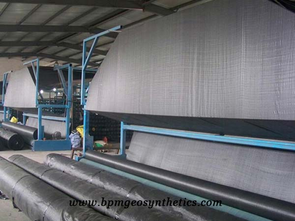 High Quality Polyprolylene Woven Geotextile Production