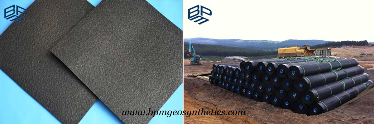 High Quality Textured Geomembrane HDPE liner