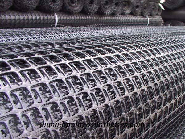 High Quality biaxial plastic geogrid price
