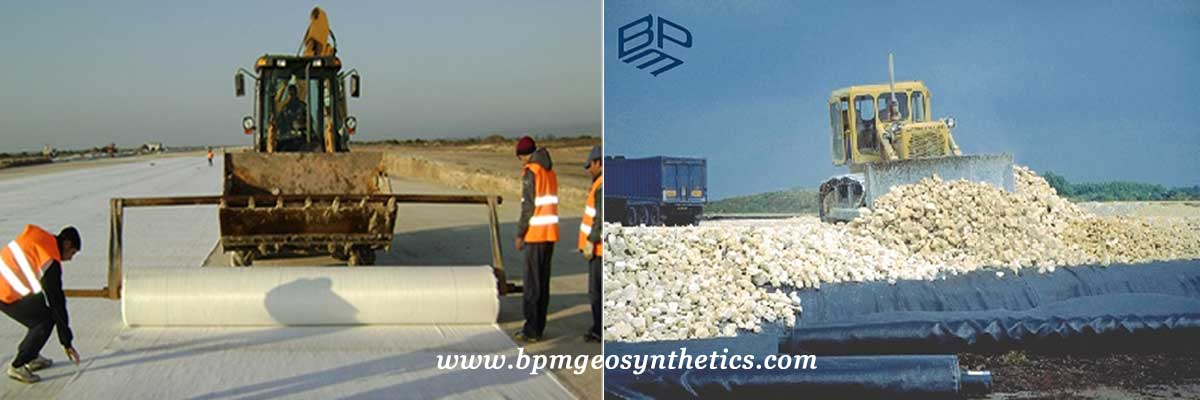 Polyprolylene Woven Geotextile Applications
