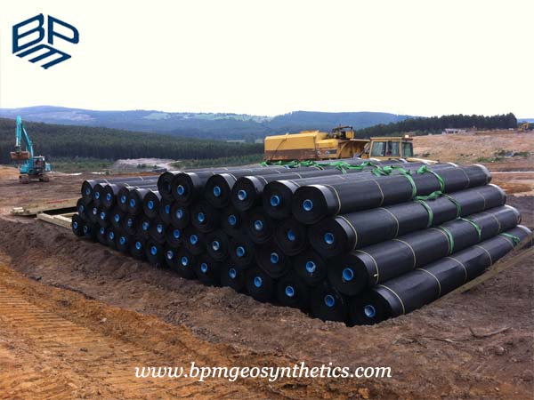 Textured HDPE liner products