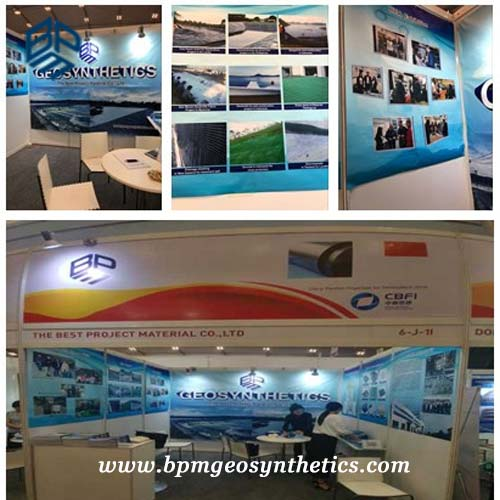 Geosynthetic Lining Systems were Showed on the 16th Indonesia Building Materials Exhibition