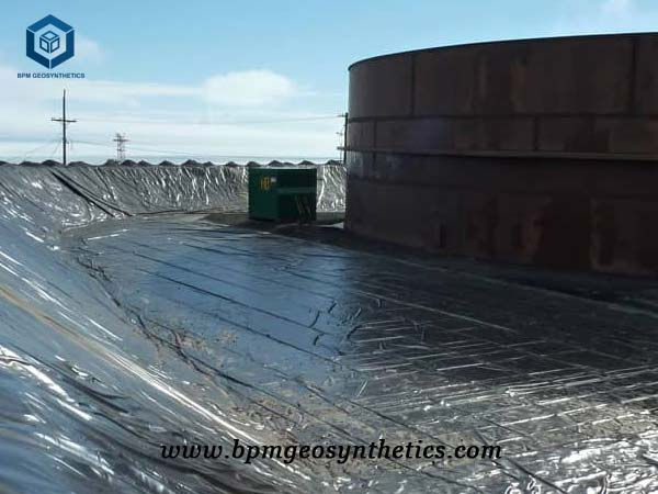 Water Pond Liner for Reservoir Project