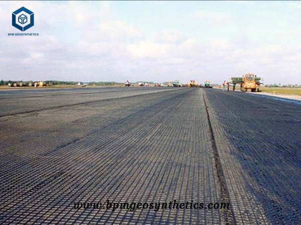 Geogrid Material for Road construction in Korea