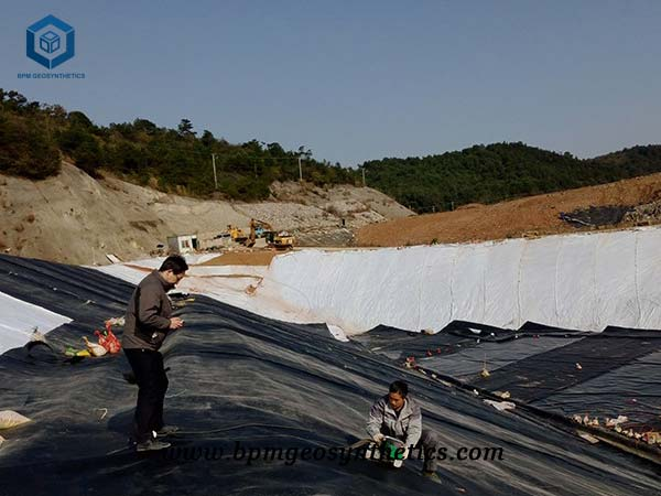 The Application of Geosynthetics in Civil Engineering-HDPELandfill Liner for Hazardous Waste Containment in Suqian City