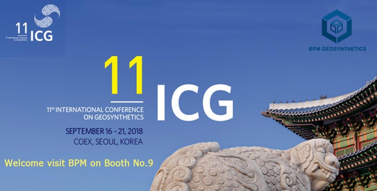 BPM Geosynthetics is showing on the ICG (Korea)