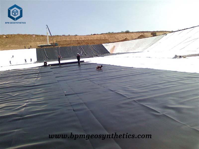 Black High Density Polyethylene Pond Liner