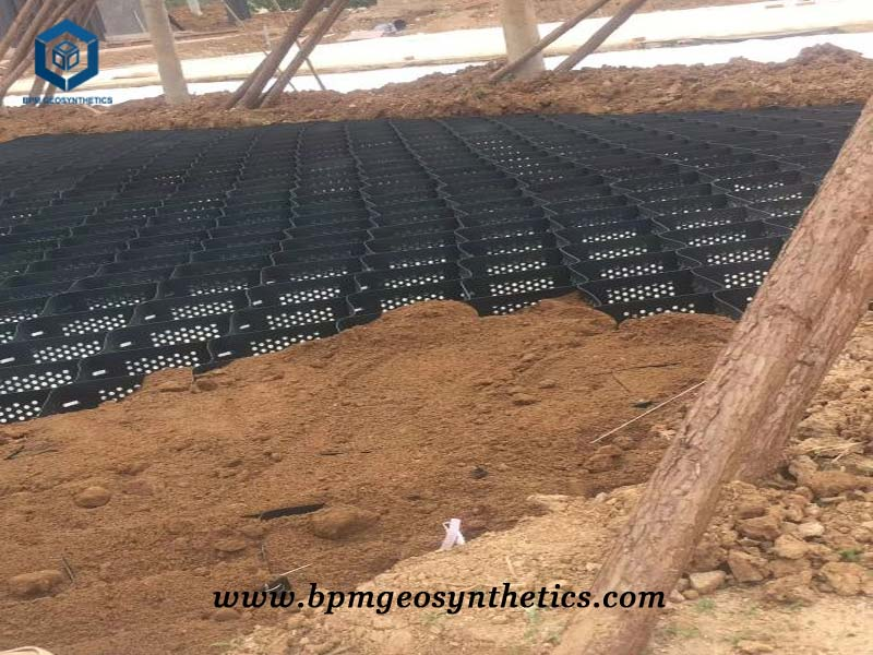 Geosynthetic Construction Material for Road Reinforcement