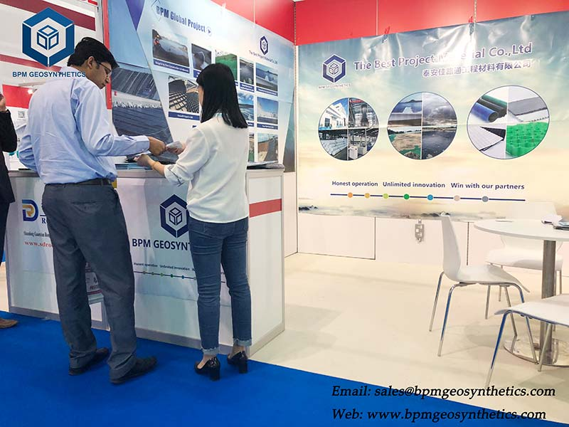 BPM Geo Material Showed on the BIG 5 Construction Exhibition in DUBAI