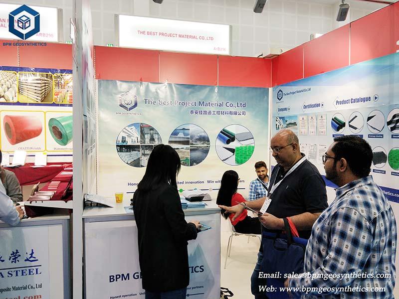 BPM Geo Material on the BIG 5 Construction Exhibition in DUBAI