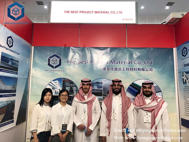 Geo Material showed on the BIG 5 Construction Exhibition in DUBAI