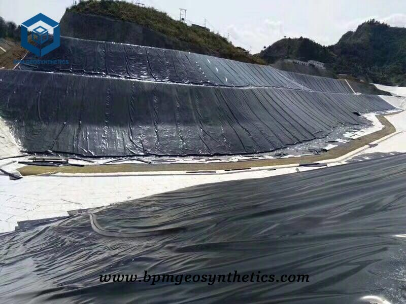 HDPE Geomembrana for Mining Project in Tanzania