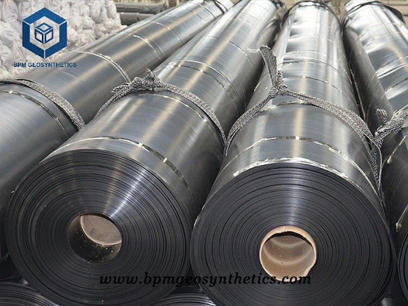 HDPE Geomembrana for Mining Project
