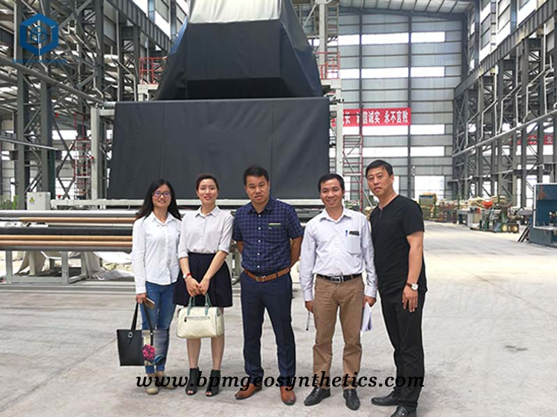 BPM geomembrane clients
