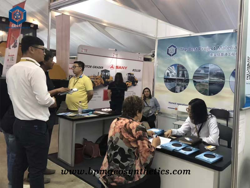 BPM geosynthetics exhibition