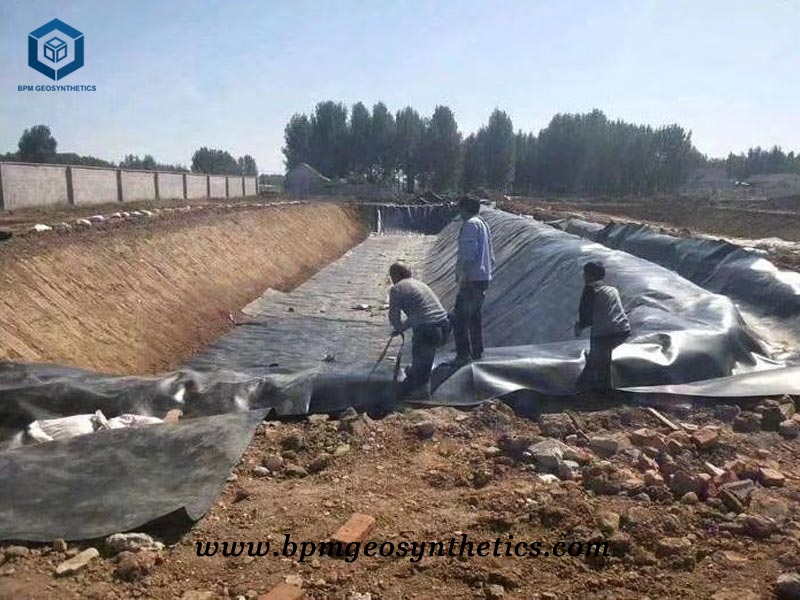 HDPE Pond Liner for Irrigation Application in Ethiopia