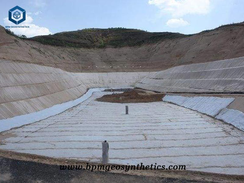 Geocomposite Drain Net for Coastal Dam protection Project in Indonesia
