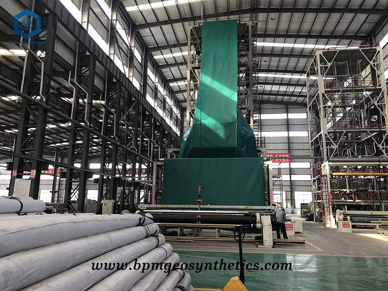 HDPE Geomembrane Liner for Waste Landfill in Ecuador
