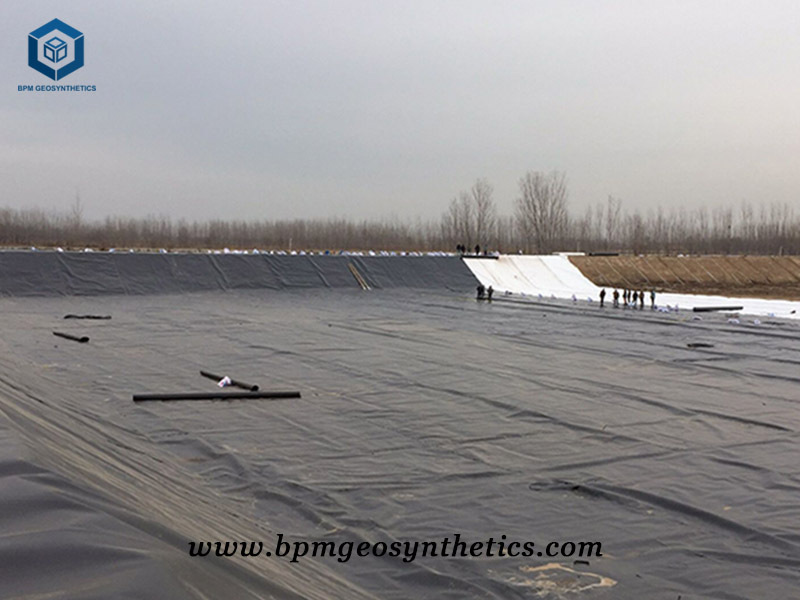 HDPE Geomembrane Sheet for Mining Project in Indonesia