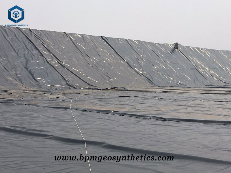 Geotextile Geomembrane Lining System for Landfill in Chile