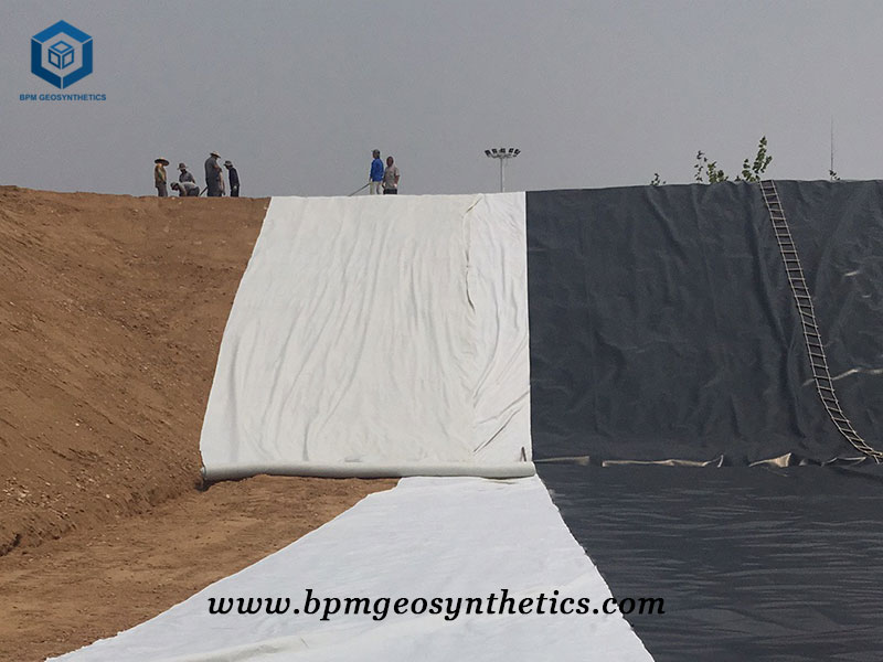 Geotextile Geomembrane for Landfill Project in Chile