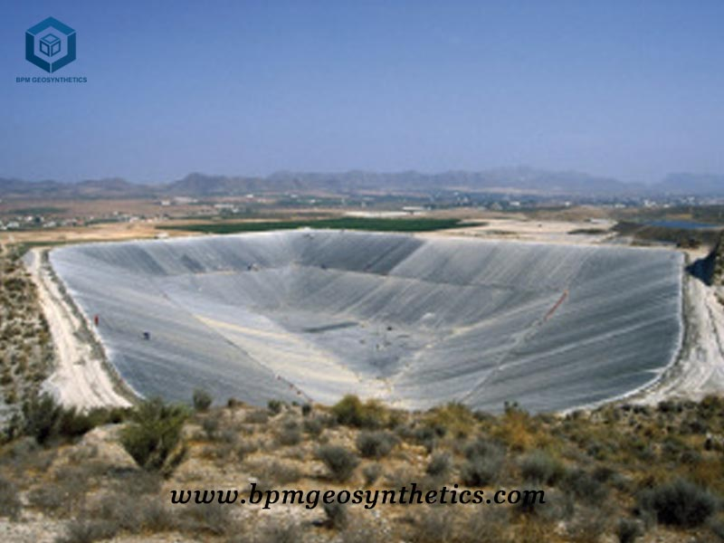 HDPE Geomembrane Sheet for Mining Project in Peru