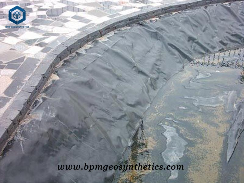 HDPE Lake Liner for Artificial Lake in Indonesia