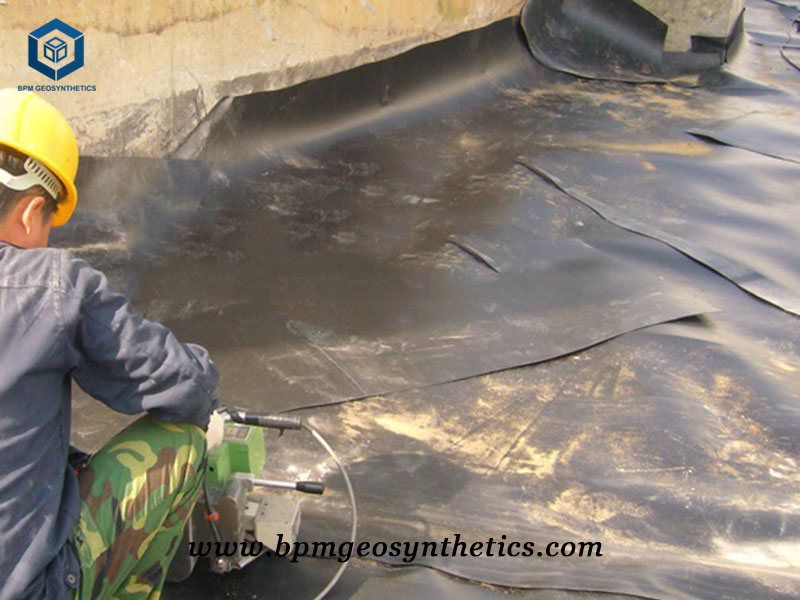 PVC Geomembrane Liner for oil Storage Project in Indonesia
