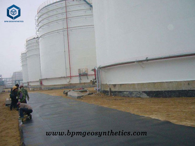 PVC Geomembrane for oil Storage Project in Indonesia