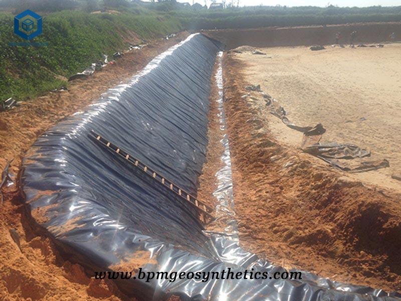 HDPE Geomembrane Pond Liner for Fish Farm in Venezuela