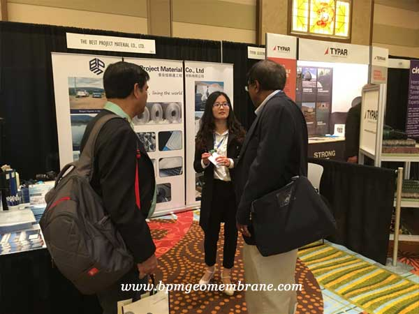 Geotextiles and Geomembranes Showed on the Geotechnical Frontiers in America