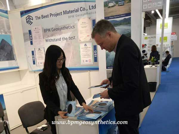 Geosynthetic products were Showed on Techtextil 2017 in Frankfurt