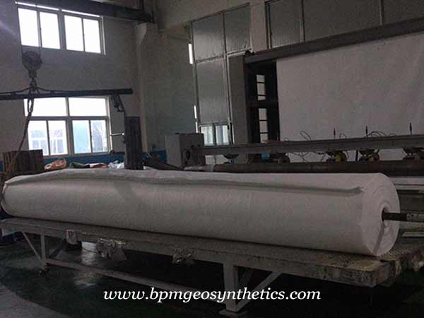 Continuous Filament Geotextile Fabric Project in Myanmar